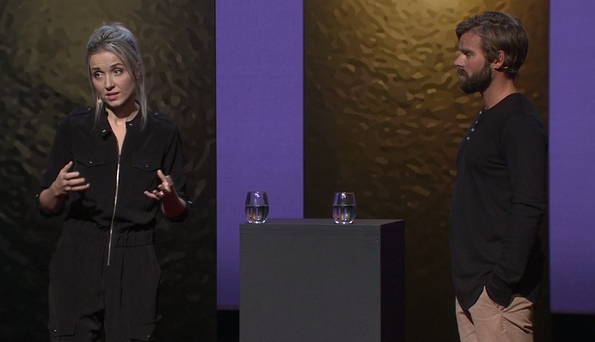 Thordis appeared on stage with her rapist Tom during a Ted Talk