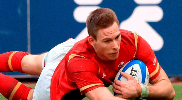 Liam Williams missed a late opportunity for Wales last weekend. Photo: PA