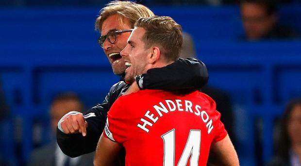Jurgen Klopps's judgement call on Jordan Henderson is coming under renewed scrutiny. Photo: Clive Rose/Getty Images