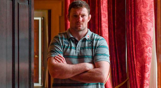 Donnacha Ryan is hoping to bring his Munster form to the Stadio Olimpico tomorrow. Photo: Stephen McCarthy/Sportsfile