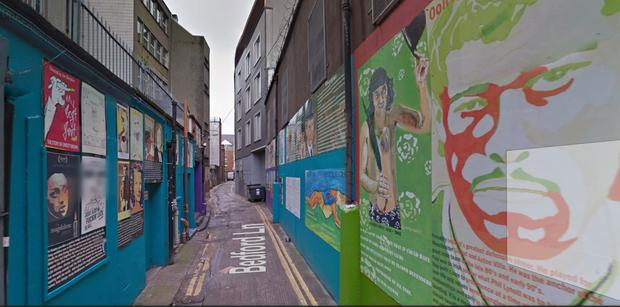 Bedford Lane Temple Bar Image via Google Maps