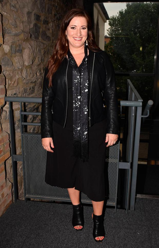 Elaine Crowley at the Littlewoods Ireland Autumn Winter 2016 launch