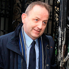 Whistleblower Garda Sergeant Maurice McCabe arriving for a private session of the Dáil Public Accounts Committee at Leinster House in 2014 Photo: Tom Burke