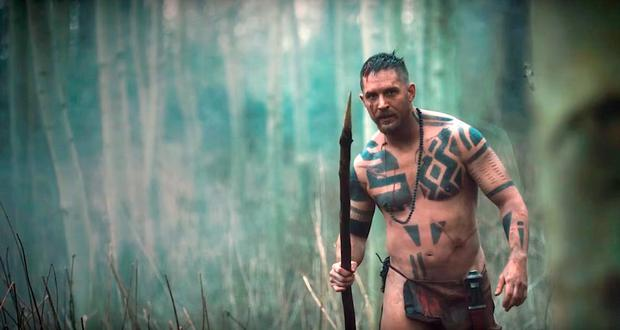 Seeking vengeance: Tom Hardy in Taboo