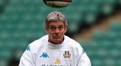 Nick Mallett has issued a warning to Ireland as they chase a potential bonus point in Rome this afternoon. Photo: Getty