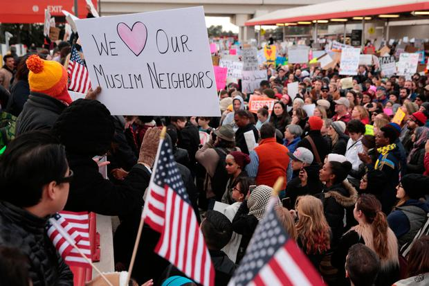 Trump's Muslim ban statement removed from official website