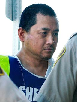 Vince Li. Li, who was found not criminally responsible for beheading and cannibalizing a fellow passenger on a Greyhound bus has been granted his freedom (John Woods/The Canadian Press via AP, File)