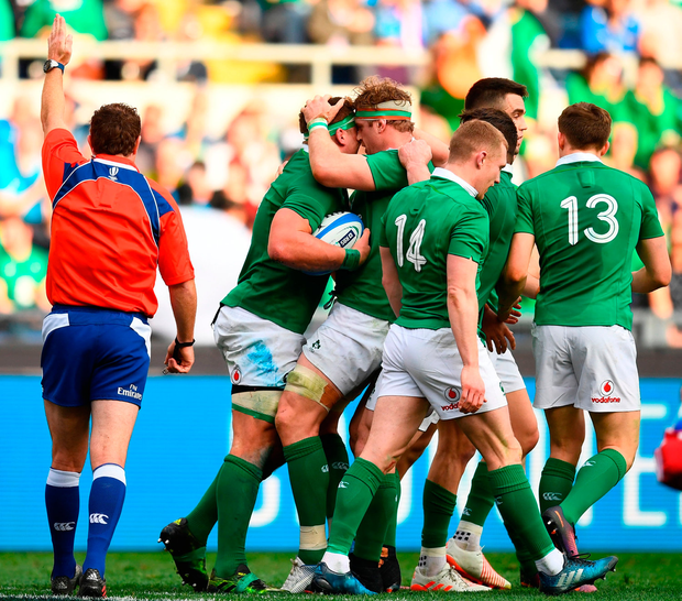 Record Six Nations win for Ireland as Stander and Gilroy claim hat ... f54975cfb