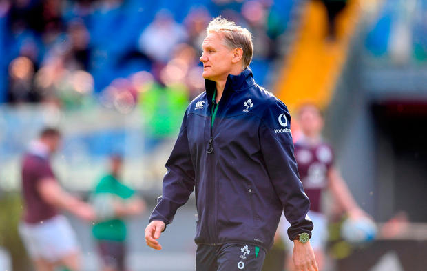 Ireland head coach Joe Schmidt ahead of the RBS Six Nations Rugby Championship match between Italy and Ireland at the Stadio Olimpico in Rome