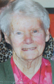 Liam Collins' mother Mary, who died on 10 January last, at the age of 99