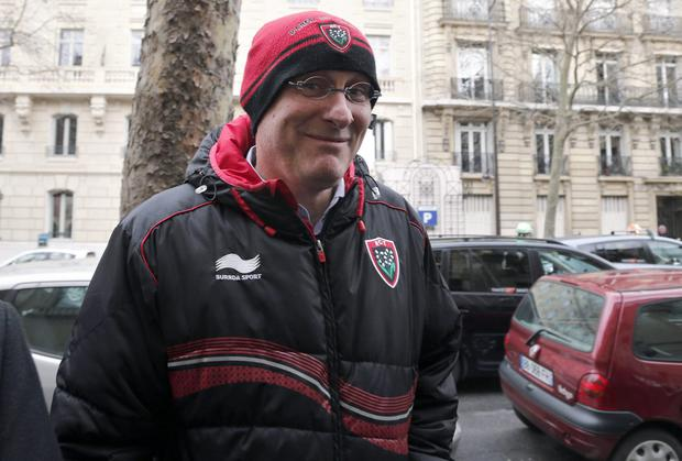 President of the French Rugby Federation Bernard Laporte Picture: PA