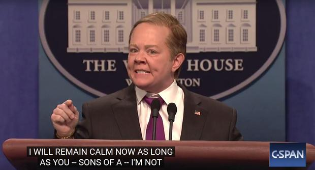 Melissa McCarthy Reprises Sean Spicer On 'SNL' & Accuses Nordstrom Of Terrorism