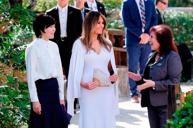 Melania Trump Shows Off Hair Makeover - See Pics Of New Cut & Color