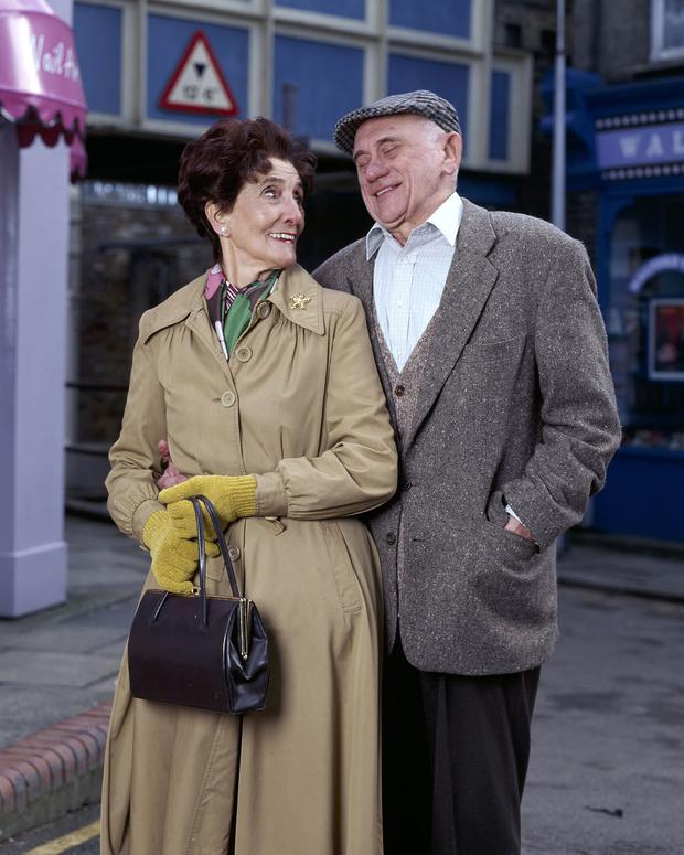 June Brown as Dot 'Cotton' Branning in Eastenders