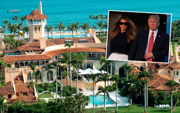 Inside Donald Trump's Mar-a-Lago estate