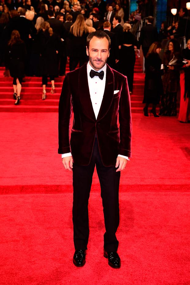 Tom Ford attending the EE British Academy Film Awards held at the Royal Albert Hall, Kensington Gore, Kensington, London. PRESS ASSOCIATION Photo. Photo: Ian West/PA Wire