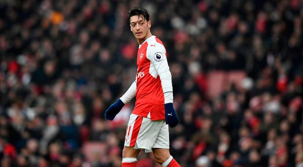 Ozil's contract runs out at the end of next season and he has spoken of how he needs to know Wenger's future plans before deciding on his own. Photo: Reuters / Dylan Martinez