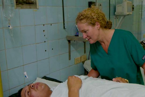 Berna Breen treated casualties in Honduras