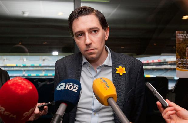 Simon Harris says Sgt McCabe deserves 'truth and justice'. Photo: Gareth Chaney Collins