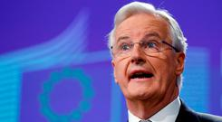 Michel Barnier: 'I am working seriously to find concrete solutions' Photo: REUTERS/Francois Lenoir/File Photo