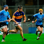 Kieran Bergin of Tipperary in action against Seán McGrath of Dublin. Photo by Sam Barnes/Sportsfile