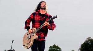 Foo Fighters played to a sold-out crowd in Slane in May 2015. Photo: Arthur Carron