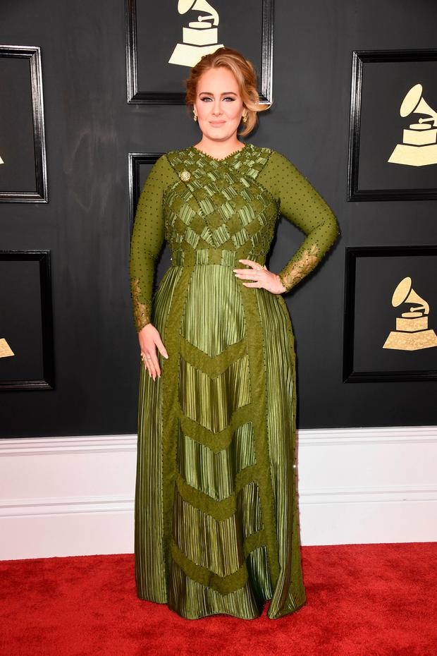 Singer-songwriter Adele attends The 59th GRAMMY Awards at STAPLES Center on February 12, 2017 in Los Angeles, California. (Photo by Frazer Harrison/Getty Images)