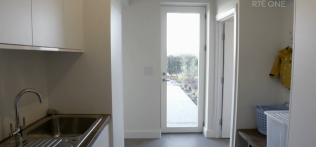 Kelly's utility room on Room to Improve. Image: RTE