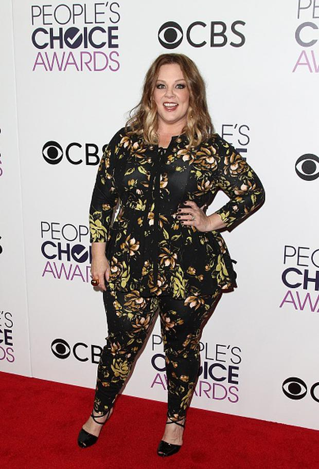 Actress Melissa McCarthy poses in the press room during the People's Choice Awards 2017 at Microsoft Theater in Los Angeles, California, on January 18, 2017. / AFP / Tommaso Boddi (Photo credit: TOMMASO BODDI/AFP/Getty Images)