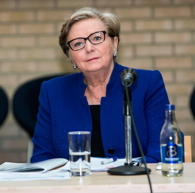 Justice Minister Frances Fitzgerald at an Irish Prison Service event in Dublin. Photo: Kyran O'Brien