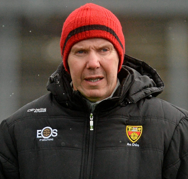 Burns: Poor start to league. Photo: Sportsfile