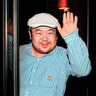 In a file picture taken on June 4, 2010 Kim Jong-Nam, the eldest son of North Korean leader Kim Jong-Il, waves after an interview with South Korean media representatives in Macau. AFP PHOTO / JOONGANG SUNDAY VIA JOONGANG ILBO / STRSTR/AFP/Getty Images