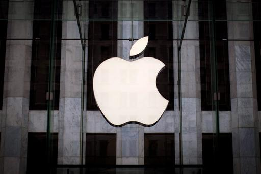 Apple rose about 1pc to hit an all-time high of $134.59 (€127.29) a share. Photo: Reuters
