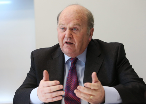 Finance Minister Michael Noonan Photo: Bloomberg