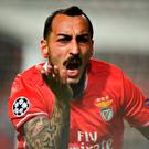 Benfica's Greek forward Konstantinos Mitroglou Photo: Patricia de Melo Moreira/AFP/Getty Images