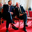 Ministers Leo Varadkar (left) and Simon Coveney at an event in Dublin Photo: Brian Lawless/PA Wire