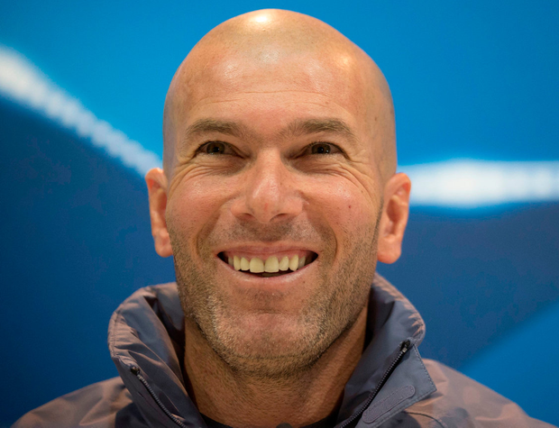 Real boss Zinedine Zidane. Photo: Daniel Ochoa de Olza/AP Photo