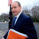 Fianna Fail leader Micheál Martin Photo: Tom Burke