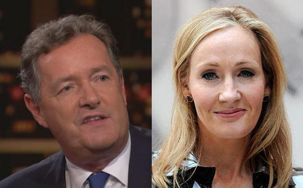 Piers Morgan and JK Rowling have continued their Twitter feud