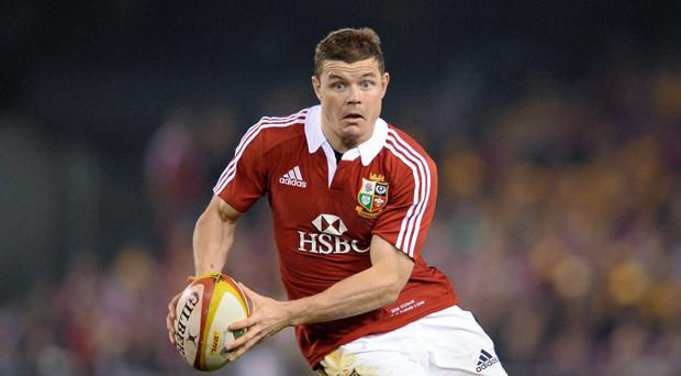 Brian O'Driscoll during the 2013 Lions Tour of Australia