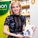 Sinéad Moriarty at the launch of her new novel 'The Good Mother' in Eason. Photo: Arthur Carron