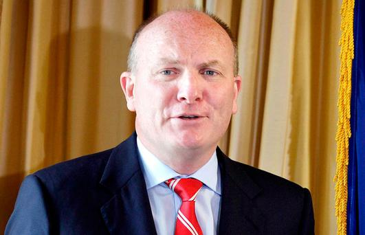Mr Justice Max Barrett made the comments when refusing RTÉ's application to halt defamation proceedings brought against it by businessman Declan Ganley (pictured). Photo: Frank McGrath