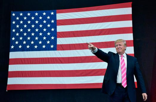 Mr Trump's campaign team explicitly targeted the J1 programme, saying it would be 'terminated' in favour of a scheme to encourage employers to hire young Americans. Photo: AFP/Getty Images