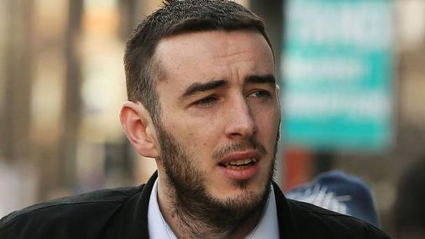 Eamon Bradley, from Derry, denies the charges