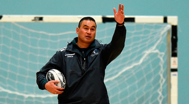Pat Lam has invited club and school coaches to training Photo by Diarmuid Greene/Sportsfile