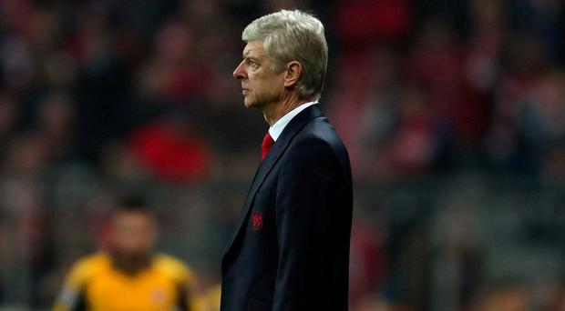 Arsenal manager Arsene Wenger. Photo: A. Beier/Getty Images for FC Bayern