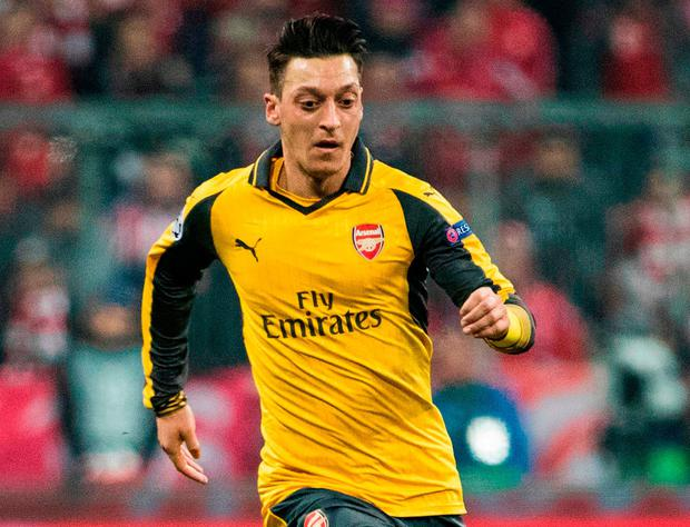 Arsenal's Mesut Ozil. Photo: AFP/Getty Images