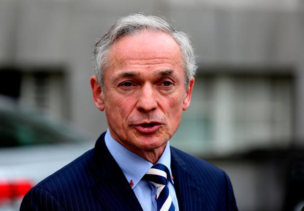 Enda Kenny saw off a heave led by Richard Bruton (pictured) in 2010. Photo: Tom Burke