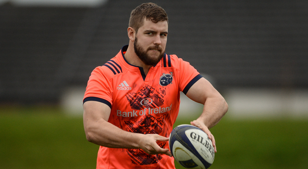 Munster's Rhys Marshall Photo by Diarmuid Greene/Sportsfile