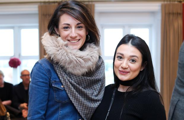 (L-r) Sarah Geraghty and Giovanna Borza at the new season launch at Kildare Village.